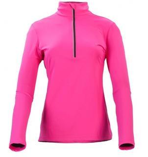 Flashlight Dames Ski Pulli Met Rits Pink