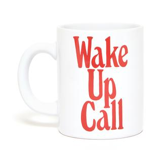 Koffiemok. Wake up call.