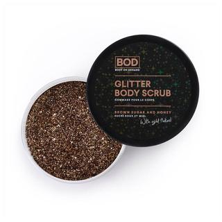 Glitter Body Scrub Brown Sugar & Honey