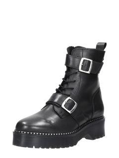 combat boots - Zwart