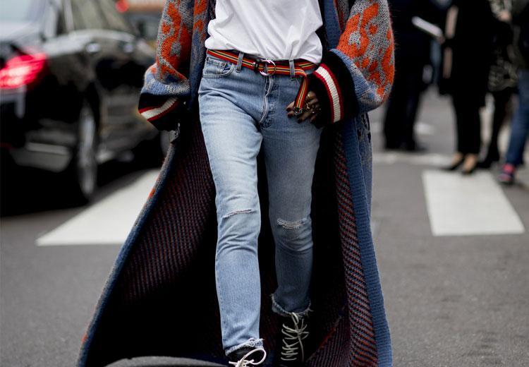 Comfortabel in een lang vest