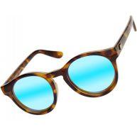 Le Specs Hey Macarena Sonnenbrillen zonnebril bruin blauw bruin blauw