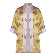 Ted Baker Diamona kimono met jacquarddessin en lurex