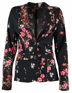Blazer Travel Flower Aop Q03-92-801 Blazer met bloempatroon Q03-92-801