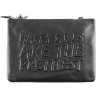 by LouLou - Pretty Happy - Clutch - Zwart