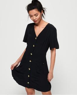 Darcy Button Through jurk