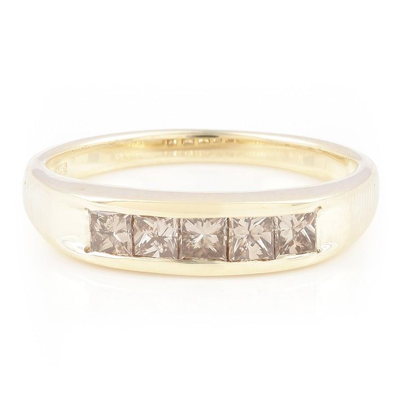 Anello Di Oro Con Il Diamante Juwelo Champagne CFktjOA