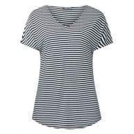 Gestreept shirt Maja - 2col. Blauw