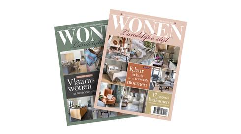 Landelijk Wonen Tijdschrift : Wonen landelijke stijl magazine sanoma