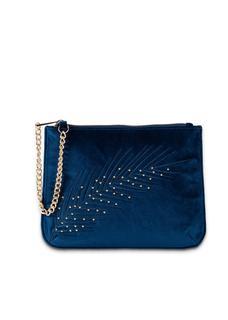 Dames clutch in blauw