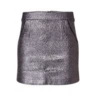 America Today Ricky mini-rok met metallic print