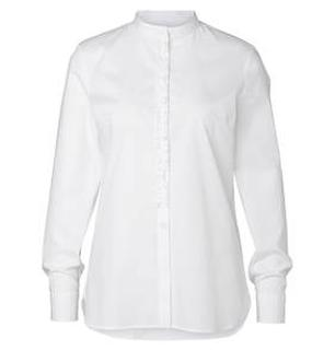 Button Down Wit Dames Blouse