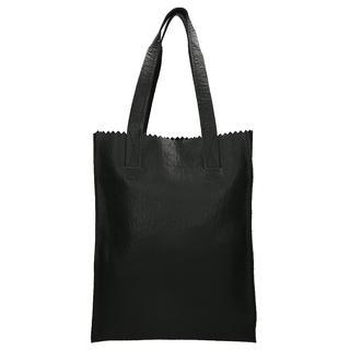 My Paper Bag Long Handle Zip shopper ostrich black