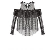 Miss Selfridge Blouse black