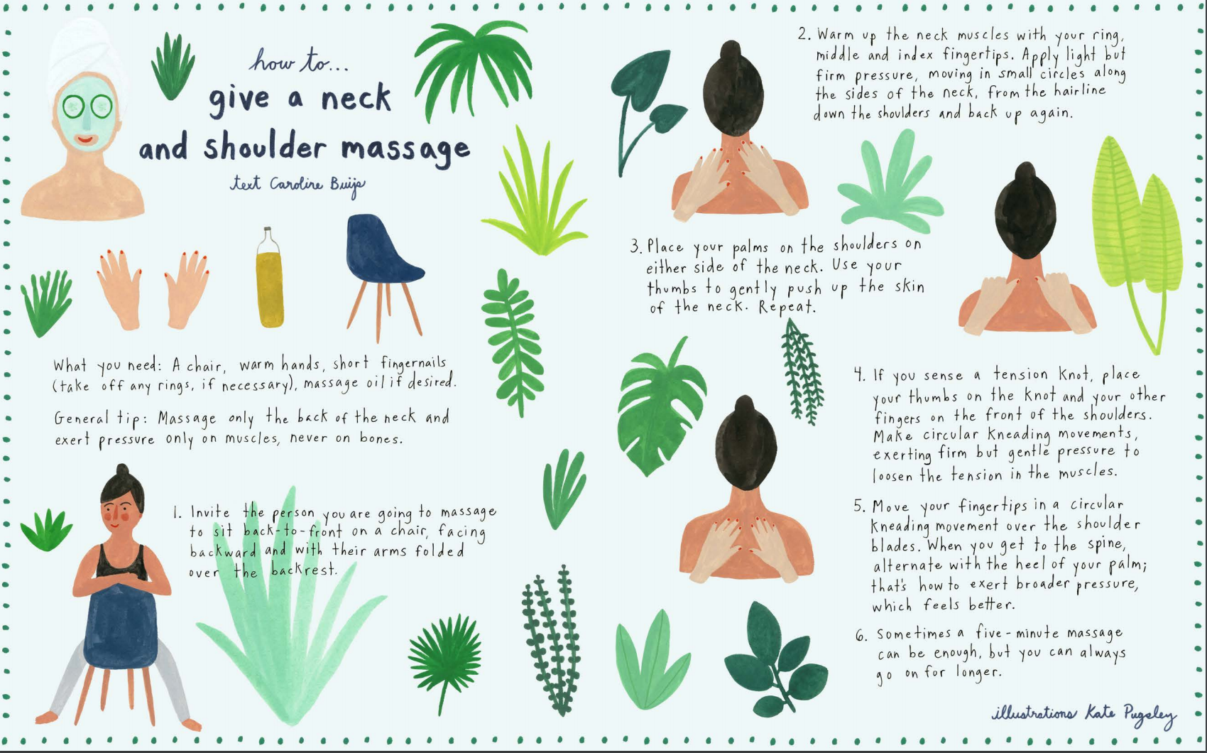 How To Give A Neck And Shoulder Massage Flow Magazine