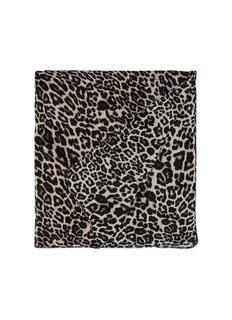 Sjaal met luipaarddessin 200 x 150 cm