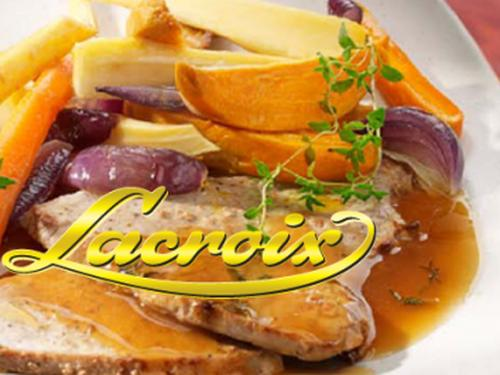 """Lacroix stocks """"Rapide, simple et délicieux"""""""