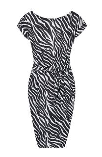 Strik Jurk Zebraprint