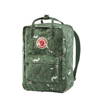 Fjallraven Kanken Art laptop rugzak 15 inch green fable
