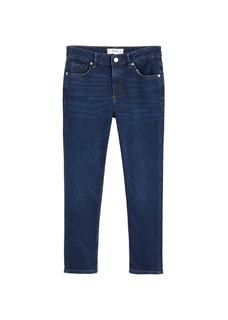 Grace cropped slim-fit jeans