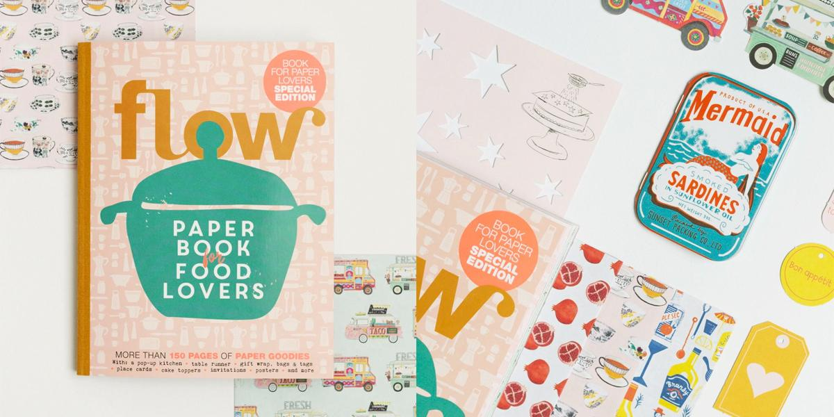 Paper Book for Food Lovers
