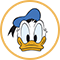 Direct contact met Donald Duck