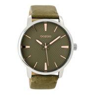 OOZOO Timepieces Groen horloge C9023 (45 mm)