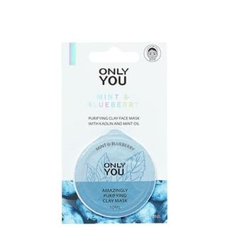 Masks Masks Zuiverend Kleimasker - Mint & Blueberry