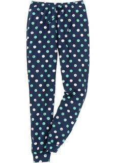 Dames pyjamabroek in blauw