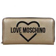 Love Moschino ritsportemonnee oro