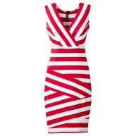 jurk zonder mouwen in pink - bonprix