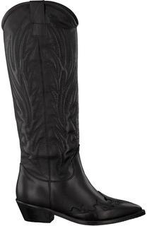 Zwarte Lange Laarzen 00196