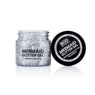 Mermaid Body Glitter Gel Silver