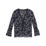 Scotch & Soda Transparante top met print