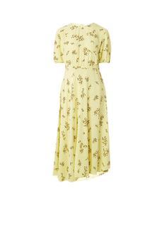 Samsøe & Samsøe Decora midi-jurk met bloemendessin