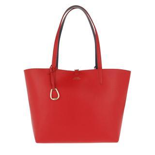 Tassen met handvat - Reversible Tote Medium Red/Navy in rood voor dames