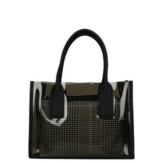 shopper transparant black
