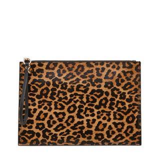 clutch met tijgerprint