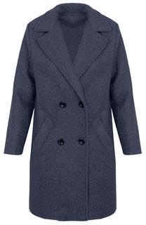 Teddy Coat Grijs