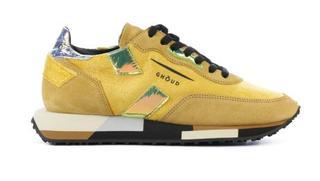 Dames Sneakers in Stof (Geel)
