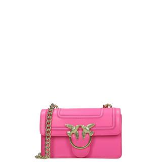 Mini Love Bag crossbody tas rosa fluo