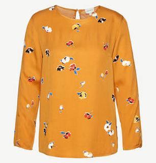 Agna Fall Flowers blouse