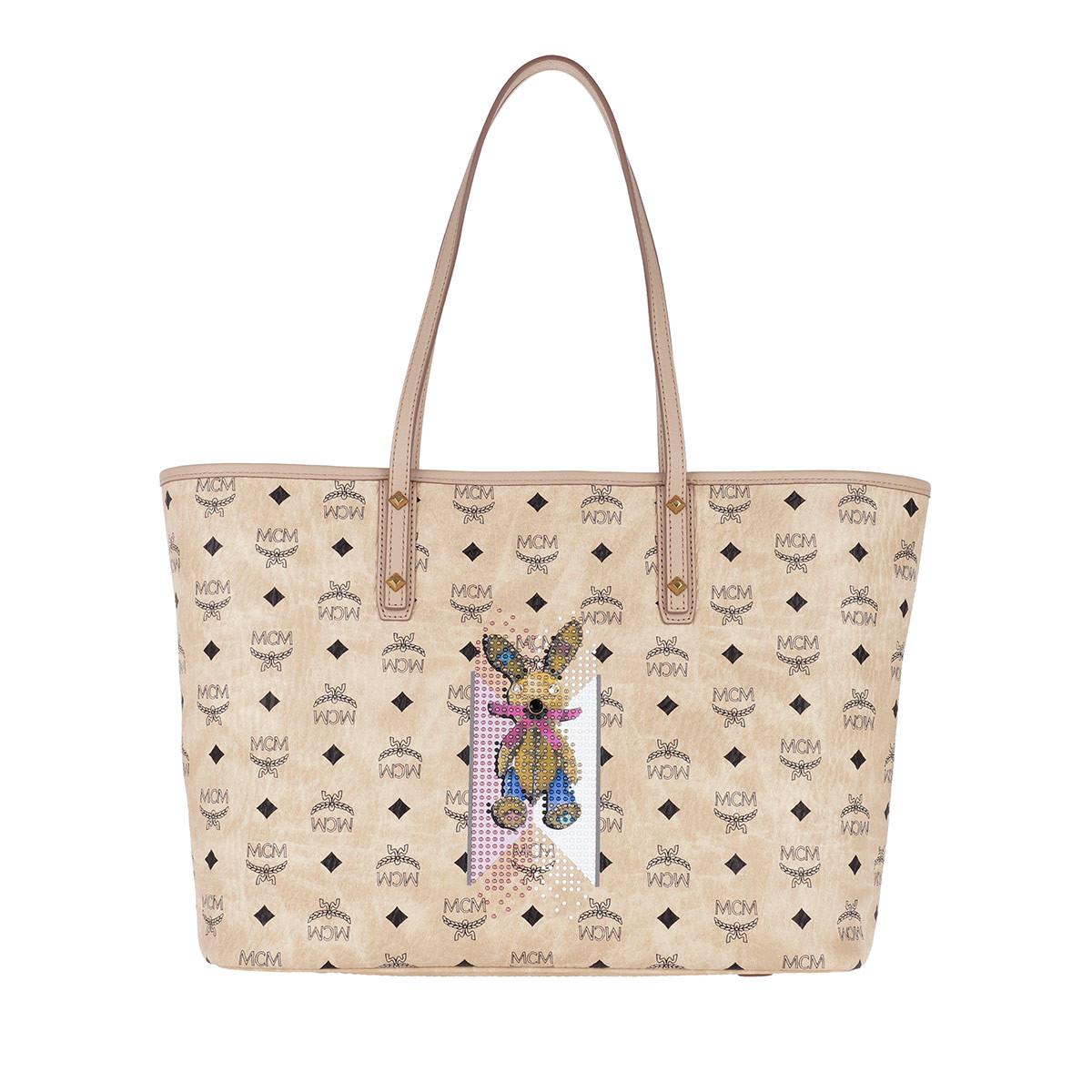 Mcm Tassen met handvat - Rabbit Bag Medium Beige in beige voor dames Footaction Online Te Koop Kopen Goedkope Lage Prijs Vergoeding Verzendkosten Goedkope Koop Origineel 1l9Ug