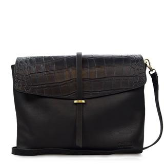 Ella - Eco Midnight Black/Croco