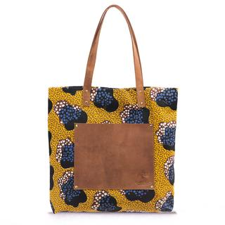 AFRIEK X - Lou's Big Bag Yellow Print