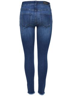 Onlblush Mid Ankle Skinny Jeans Dames Blauw
