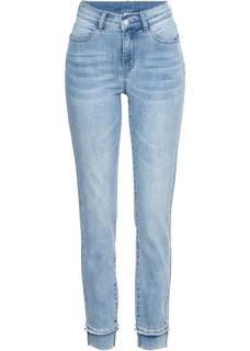 Dames 7/8-stretchjeans in blauw