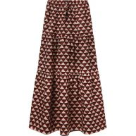 Scotch & Soda Tiered Maxi Skirt