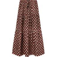 Scotch & Soda Tiered Maxi Skirt