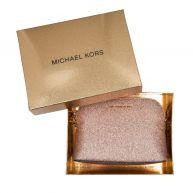 Michael Kors Schoudertassen - Alex LG Dome Crossbody Giftbox Rose goud in goud, roze voor dames
